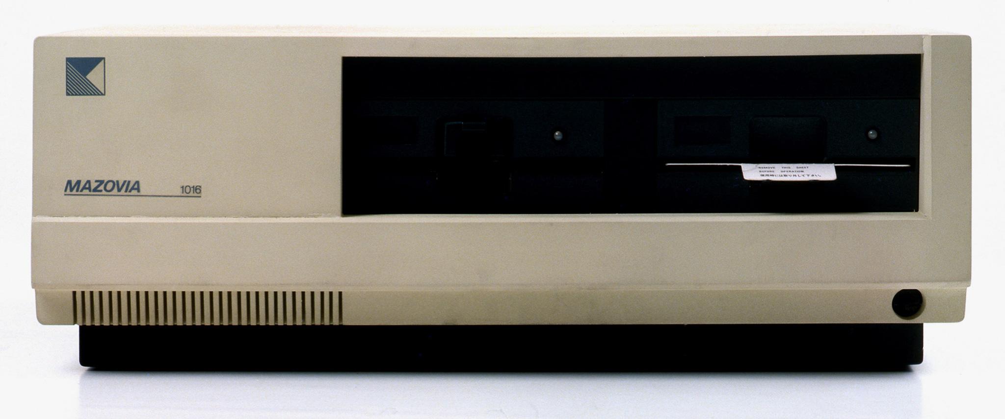 Prototyp jednostki centralnej mikrokomputera Mazovia 1016