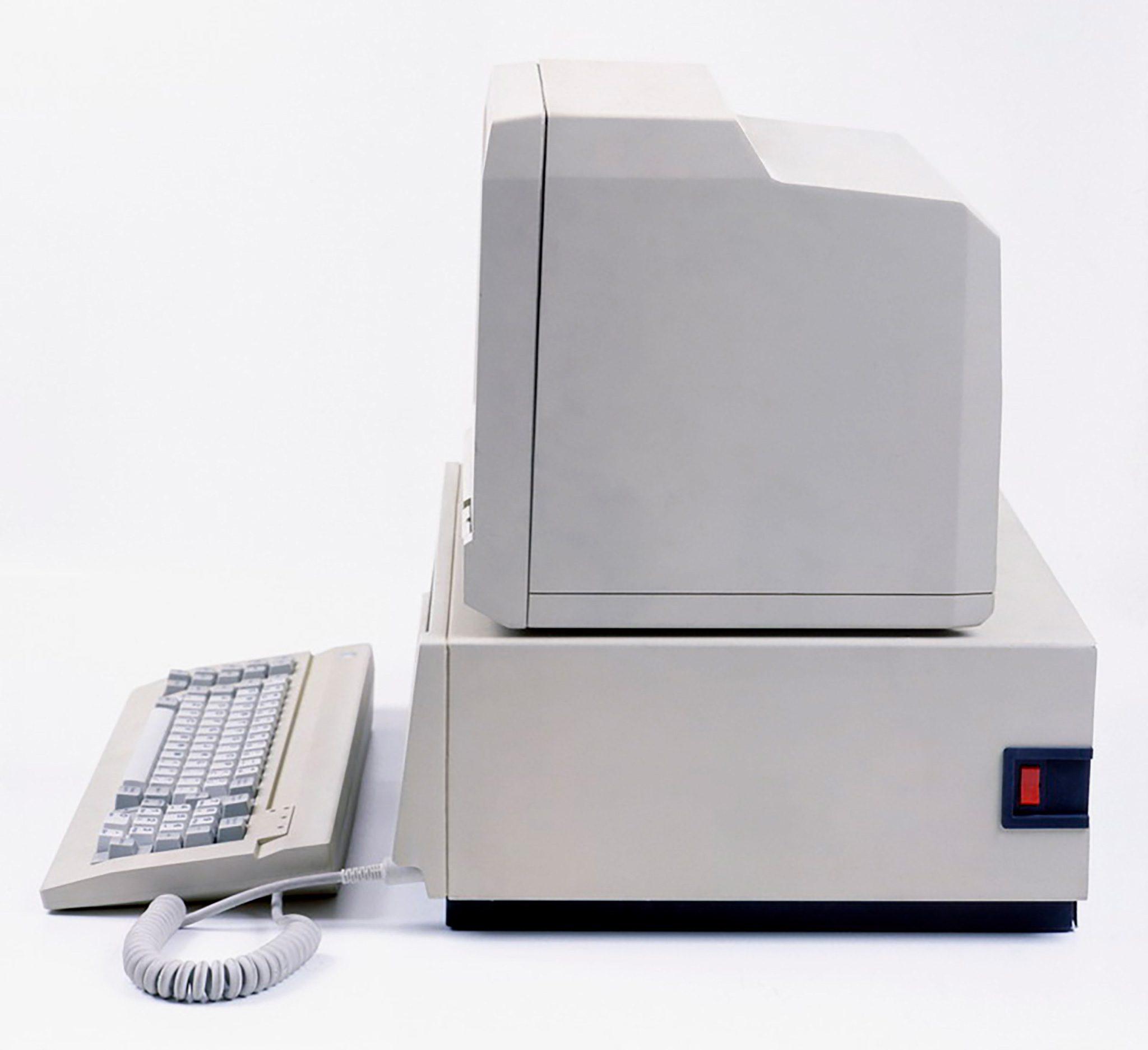 Prototyp mikrokomputera Mazovia 1016, widok zboku