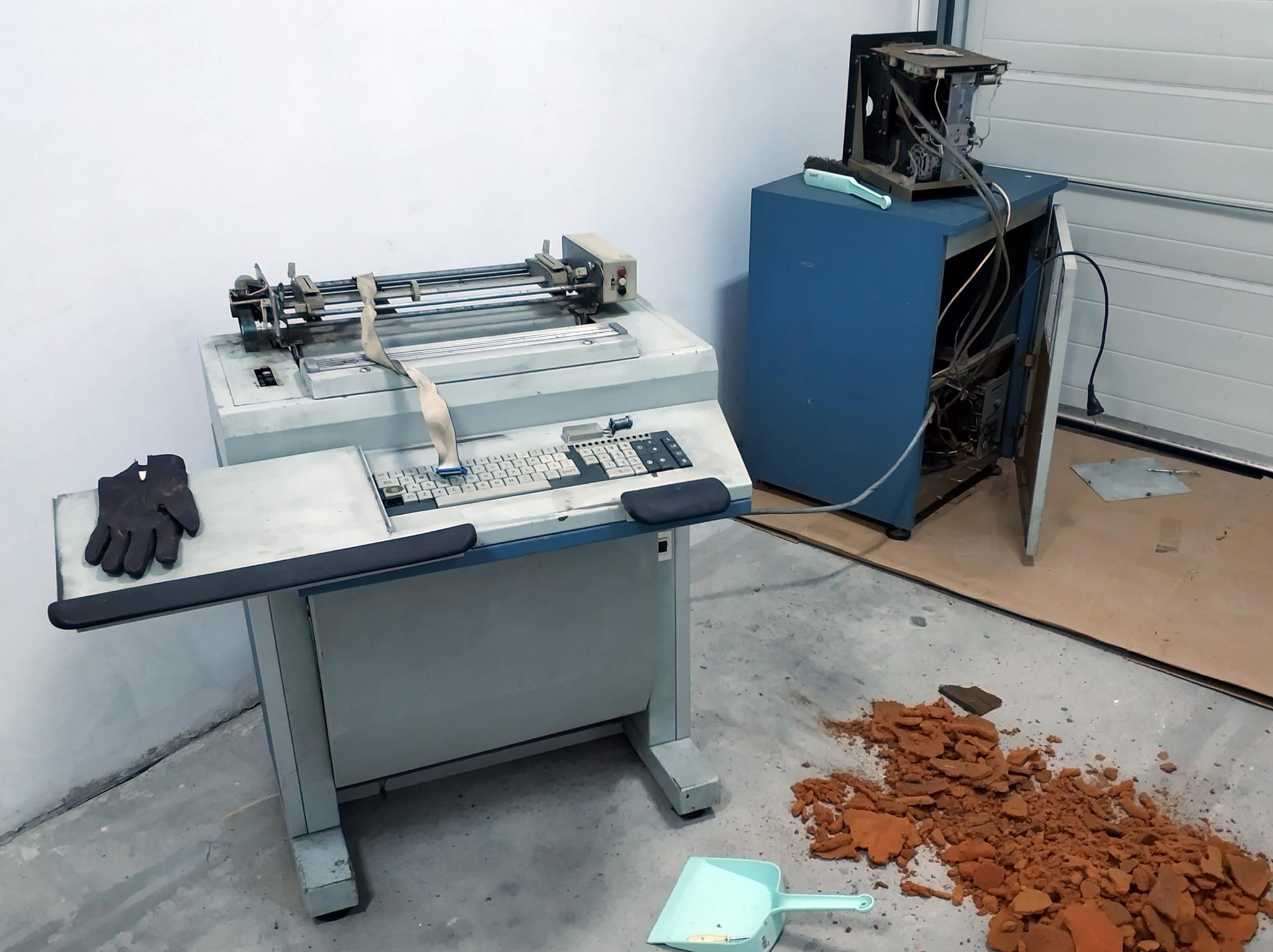 Renowacja minikomputera MERA 100