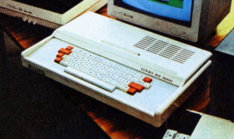 mikrokomputer elwro 800 junior prototyp