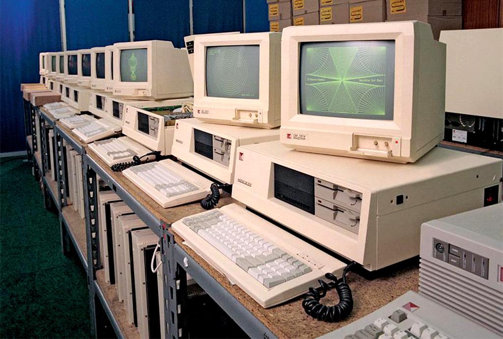 Mikrokomputer Mazovia 1016 w magazynie spółki Mikrokomputery