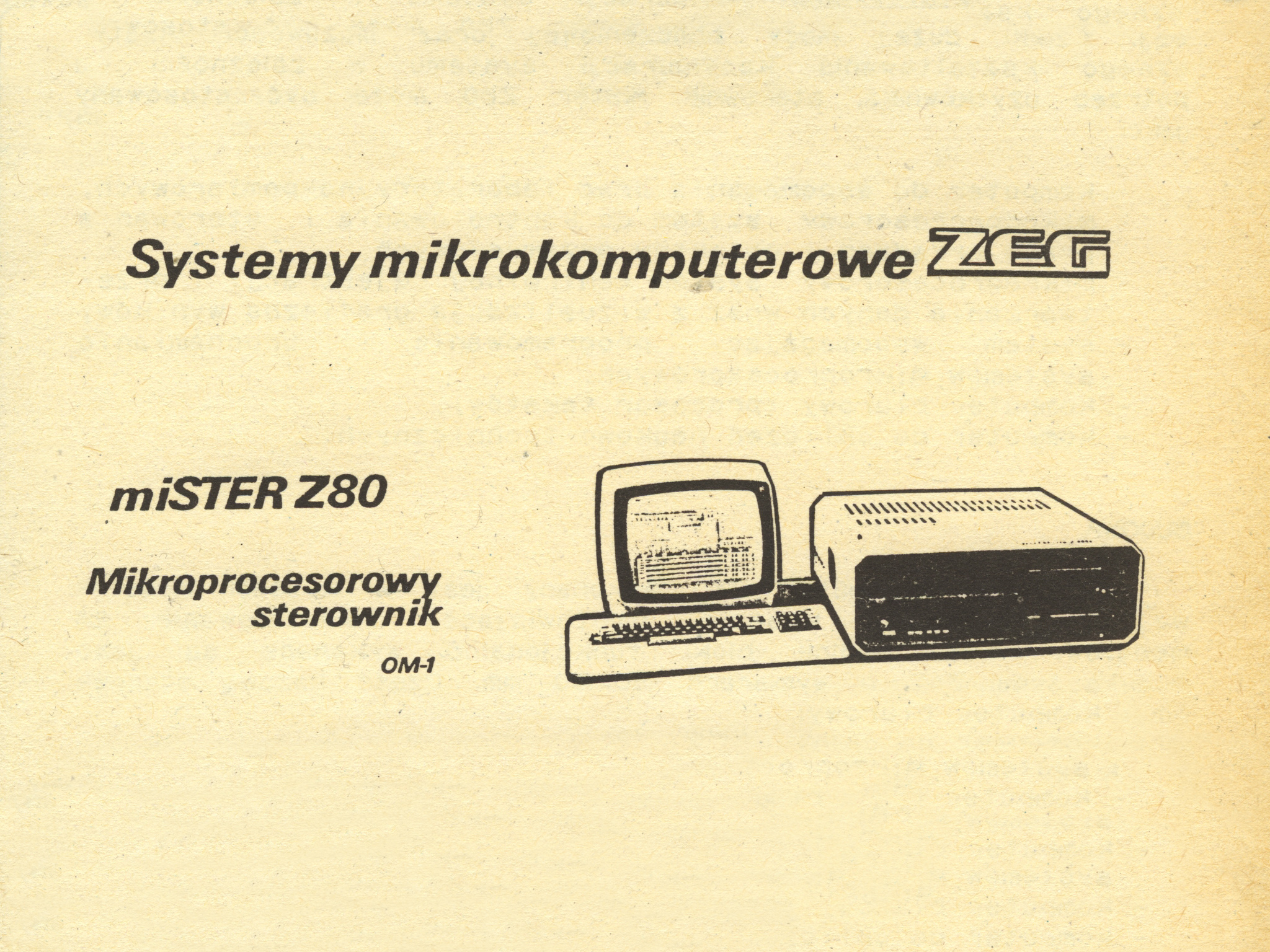 miSTER Z80-OM-1 – prospekt informacyjny