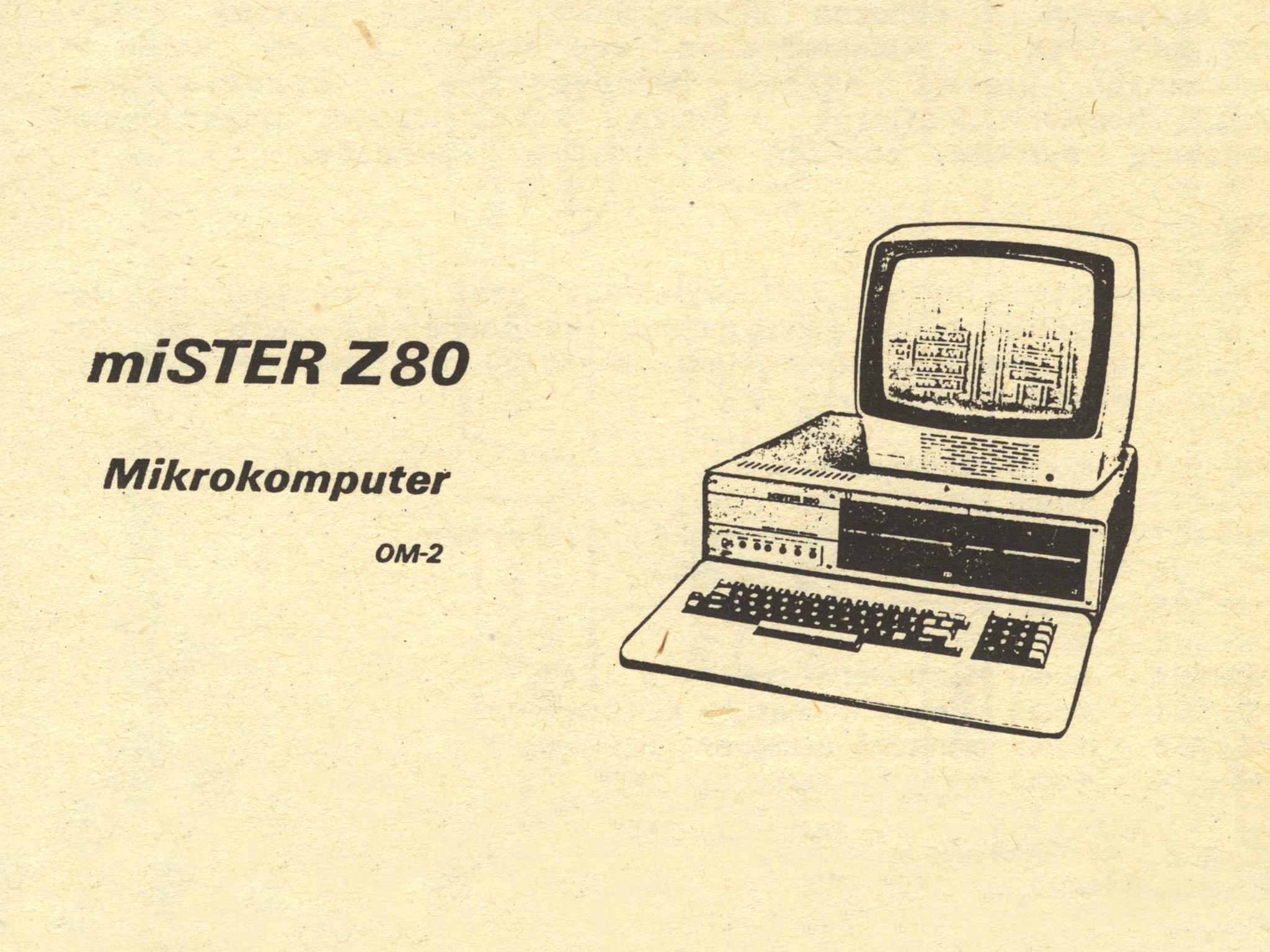 miSTER Z80-OM-2 – prospekt informacyjny